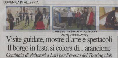 Giornata Bandiere Arancioni – Entroterra Italiano d´Eccellenza