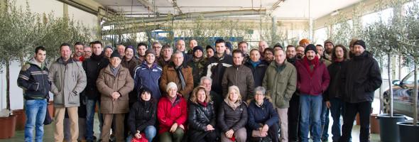 Diplomati i primi 46 potini del quarto corso professionale di potatura