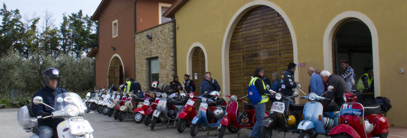 Vespeggiando in Valdera fa tappa a Casciana